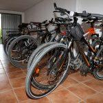 Versperrbarer Abstellraum für Fahrräder am Urbarialhof